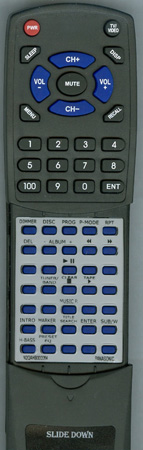 PANASONIC N2QAHB000064 Custom Built Redi Remote
