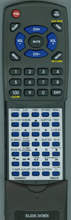 PANASONIC N2QAJB000023 Custom Built Redi Remote