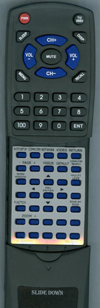 PANASONIC N2QAYB000305 Custom Built Redi Remote