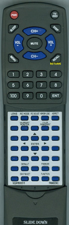 PANASONIC N2QAYB000316 INSERT Custom Built Redi Remote