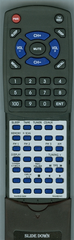 PANASONIC RAK-RX310WM Custom Built Redi Remote
