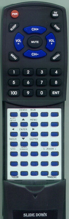 PANASONIC TNQE239 Custom Built Replacement Redi Remote