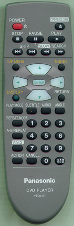 PANASONIC VEQ2377 Genuine  OEM Original Remote