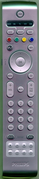 PHILIPS 242254900486 Genuine OEM Substitute Remote