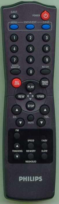PHILIPS 483521837326 N0343UD Genuine  OEM Original Remote