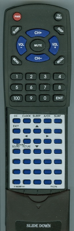 PHILIPS 313922881441 Custom Built Redi Remote