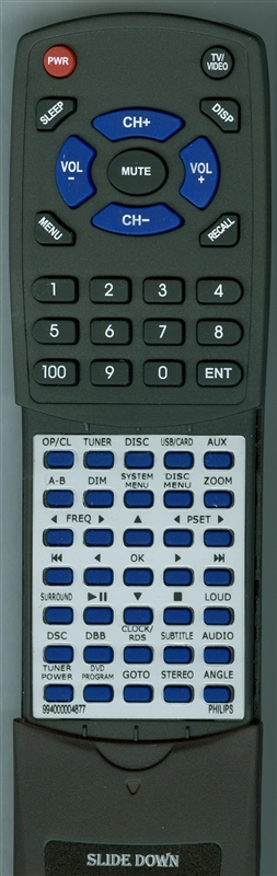 PHILIPS 994000004877 Custom Built Redi Remote