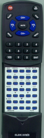 PHILIPS 996500027363 Custom Built Redi Remote