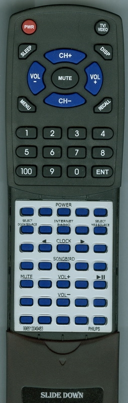 PHILIPS 996510049483 Custom Built Redi Remote