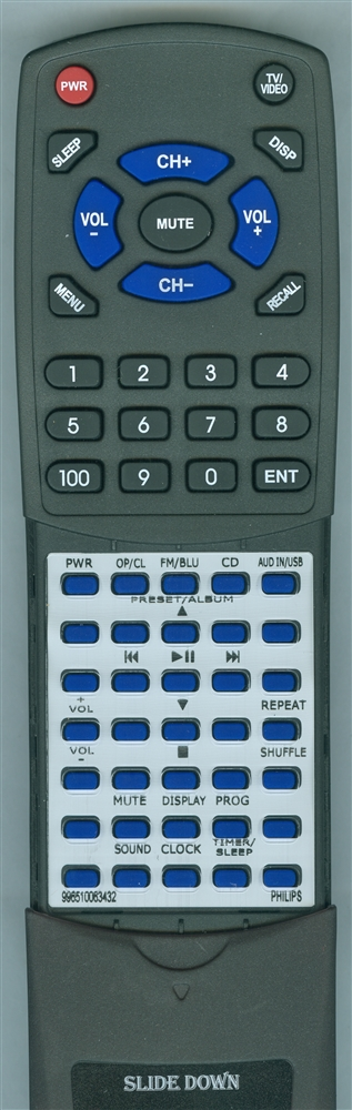 PHILIPS 996510063432 Custom Built Redi Remote