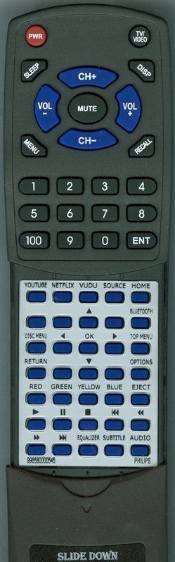 PHILIPS 996580000545 Custom Built Redi Remote