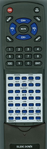 PHILIPS 996580004176 Custom Built Redi Remote