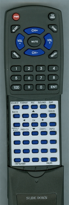 PHILIPS URMT34JHG001 Custom Built Redi Remote
