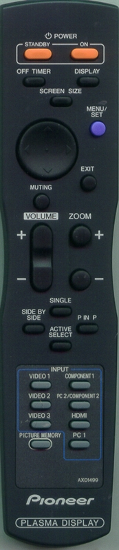 PIONEER 3S120252 AXD1499 Genuine OEM Original Remote