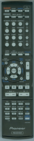 PIONEER 8300766200010-IL AXD7662 Genuine OEM original Remote
