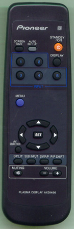 PIONEER AXD1496 Genuine OEM Original Remote