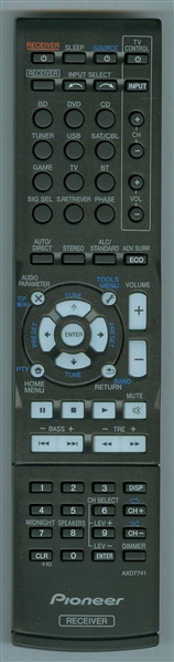 PIONEER AXD7741 Genuine OEM Original Remote