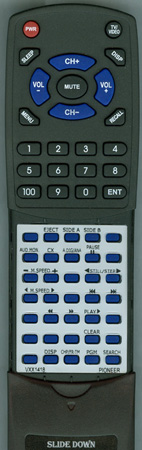 PIONEER VXX1418 CUCLD029 Custom Built Replacement Redi Remote