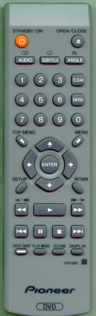 PIONEER VXX2811 Genuine OEM Original Remote