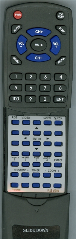 PLUS VISION 773-70-2000  Custom Built Redi Remote