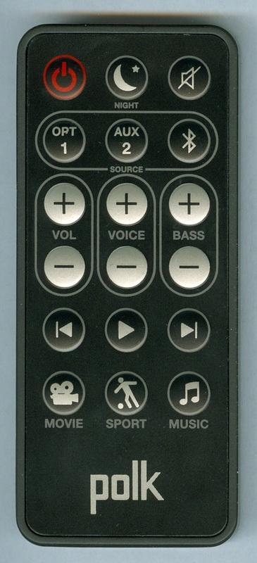 POLK RE8114-1 OEM Original Remote Control