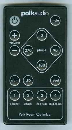 POLK RF8010-1 Genuine OEM Original Remote