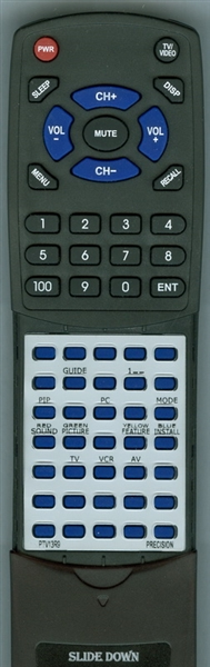 PRECISION PTV13R9 Custom Built Redi Remote