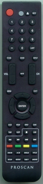 PROSCAN 1058995 Genuine OEM Original Remote