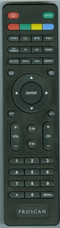 PROSCAN 6 PRO Genuine OEM Original Remote