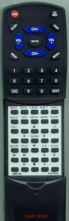 PROTRON 886-00124-00 Custom Built Replacement Redi Remote