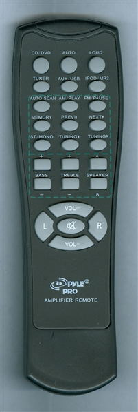 PYLE P1001AT Genuine OEM Original Remote