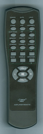 PYLE P1001ATV2 Genuine OEM original Remote