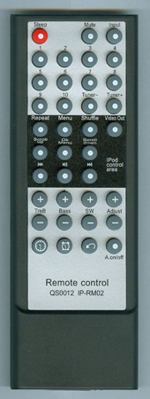 PYLE PHST80IP QS0012 Genuine OEM Original Remote