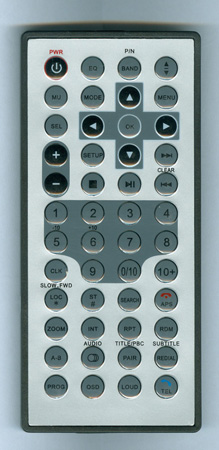 PYLE PLDN70U Genuine OEM Original Remote