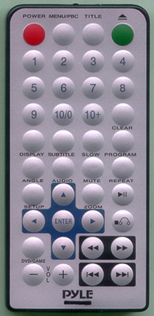 PYLE PLDVD120 Genuine OEM original Remote