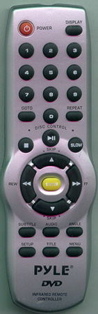 PYLE PLDVD130 Genuine OEM Original Remote
