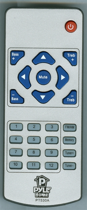 PYLE PT530A Genuine OEM original Remote