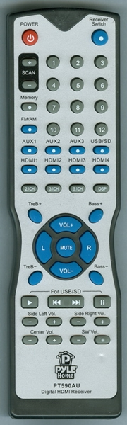 PYLE PT590AU Genuine  OEM Original Remote