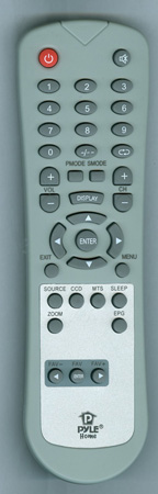 PYLE PTC32LC Genuine OEM original Remote