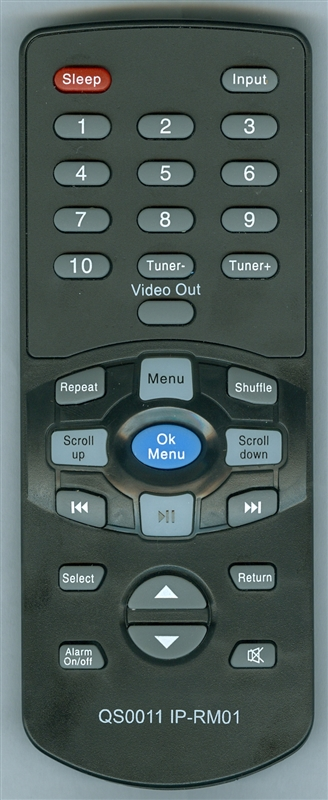 PYLE QS0011 IP-RM01 Genuine  OEM original Remote