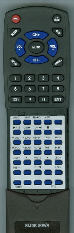 PYLE PDA5BU Custom Built Redi Remote