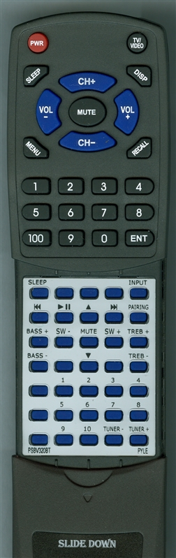 PYLE PSBV320BT QS0013 IP-RM03 Custom Built Redi Remote
