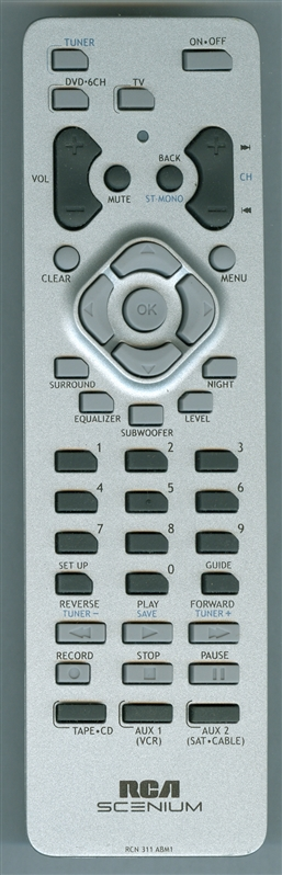 RCA 244395 RCN 311 ABM1 Genuine  OEM original Remote