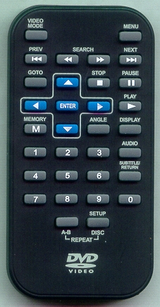 RCA DRC6272 BLUE Genuine OEM Original Remote