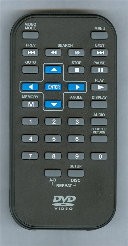 RCA DRC6282 BLUE Genuine OEM original Remote