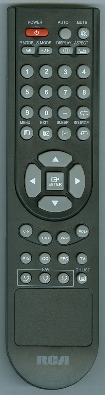 RCA RLC4036A Genuine OEM Original Remote