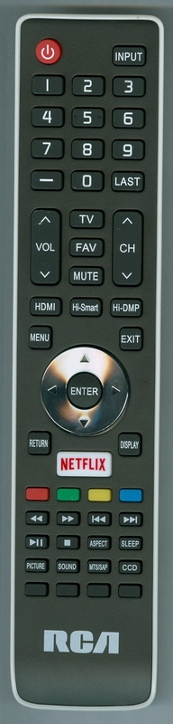 RCA RLDED3279ASM Genuine OEM original Remote