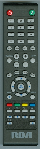 RCA RLDED3932ARK Genuine OEM Original Remote