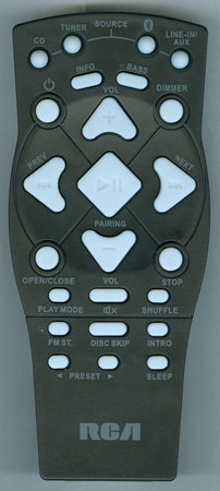 RCA RS3965SB Genuine OEM Original Remote