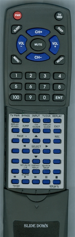 REPLAY TV 70310201 LSSQ0350  Custom Built   Replacement Redi Remote